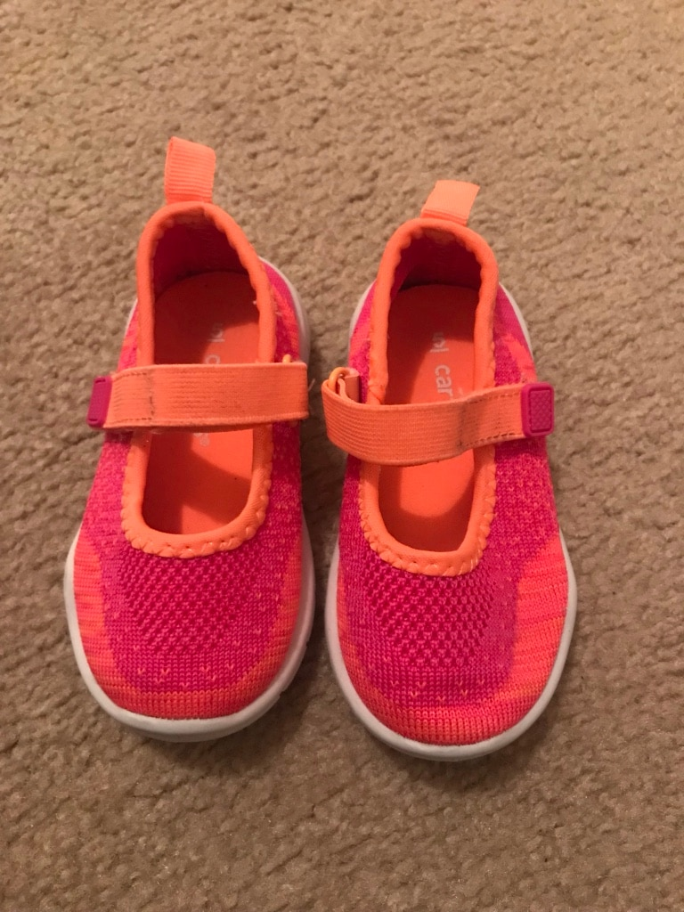 Photo Toddler Girl Shoes Size 5 (2 for $7)