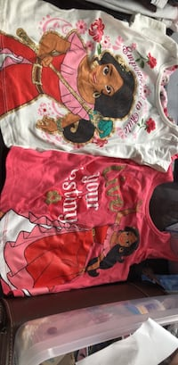 2 Elena of Avalor 4T shirts Round Lake Park, 60073