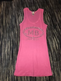 Miami pink tank top size small