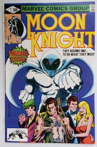 Comics! Moon Knight  [TL_HIDDEN]  Multiple copies