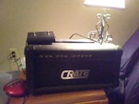 Crate GX-1200H Solid State Amp Head w/ foot switch Woodstock, 03262