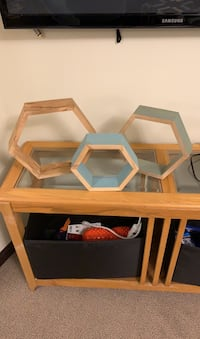 Hexagon shelves  Calgary, T3M 0N6