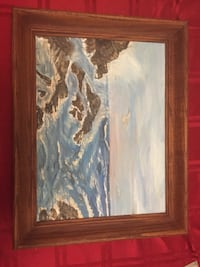 "Oil on board signed 1975 19""x15 Halifax, B3K 4K3"