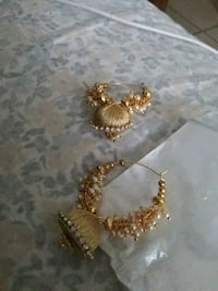 gold and diamond studded earring Tampa, 33613