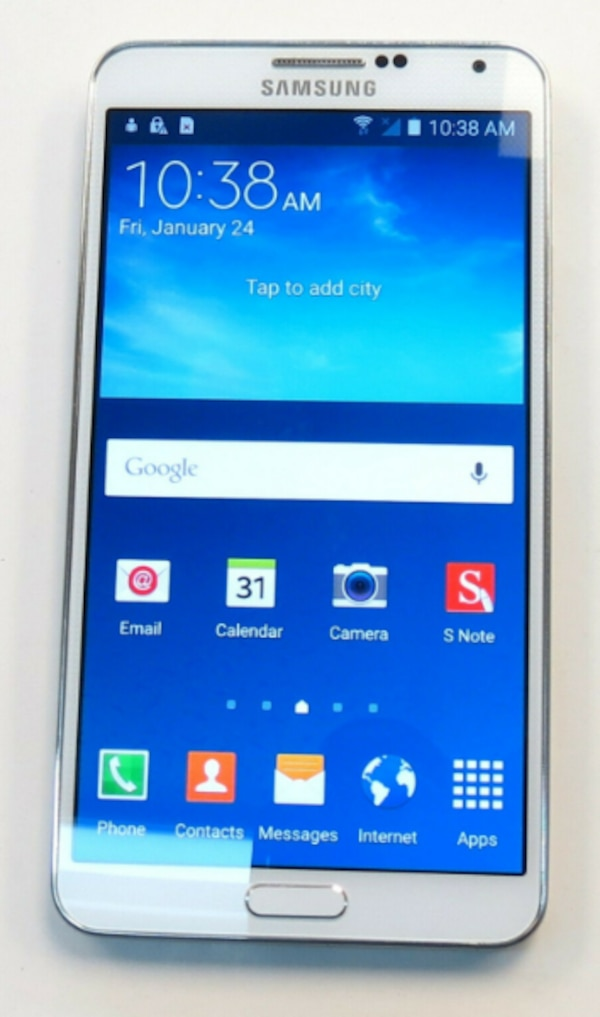 Samsung Galaxy Note 3 - 32 GB - WHITE (UNLOCKED) - VERY GOOD CONDITION 1794a949-f9c2-4468-81c9-859f822a9c05