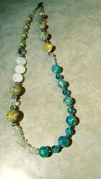 Great Freshwater Pearl statement necklace