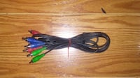 (1)- Used 6' RCA Component Video Cable (YPbPr) Springfield