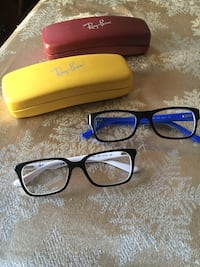Ray Ban youth eyeglasses 75 for both pairs Airdrie, T4B 1W9