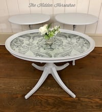 Table Set Vintage Coffee Table Bombay End Tables