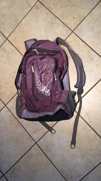 purple and grey backpack Langley, V3A 2C5