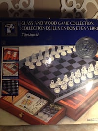 Wood & Glass 7 Classic Games in 1 Limited Edition