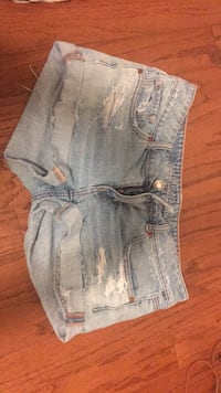 women's blue denim short shorts Arlington, 22205