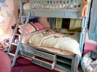 Stanley Furniture Twin over Full Bunk Bed with Trundle Storage CAPITOLHEIGHTS