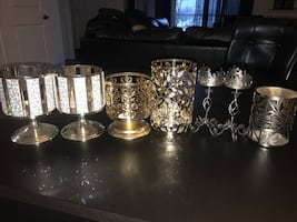 BATH & BODY WORKS CANDLE HOLDERS