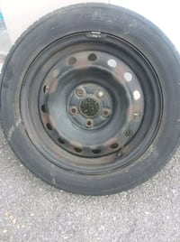 black bullet hole car wheel with tire Knoxville, 37912