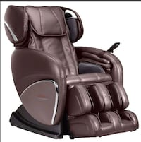black leather padded rolling armchair Los Angeles, 90008