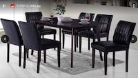 Dinning room table and chair set  501 km