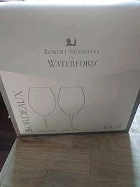 Brand new in box Waterford Crystal Wine Glasses Locust Grove, 22508