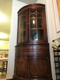 Corner Antique China Cabinet Fairfax, 22031