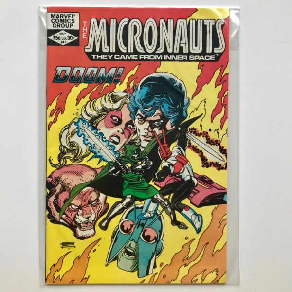 Micronauts #41 Marvel 1982 Comic Book