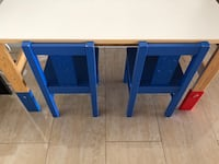 Cute Toddler table with 2 chairs Boca Raton, 33433