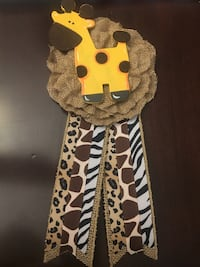 Mom To Be safari Ribbon for Baby Shower  La Mirada