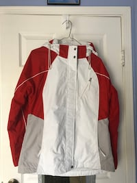 Red & White women's jacket Sterling, 20164