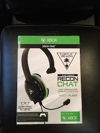 black and green Turtle Beach headset box Lincoln, L0R