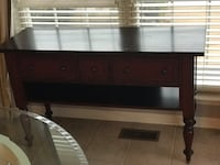 Crate & Barrel Media Console Table 24 mi