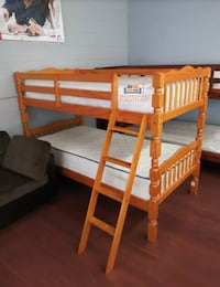 Twin over twin bunk bed, (no mattresses)  Silver Spring, 20902