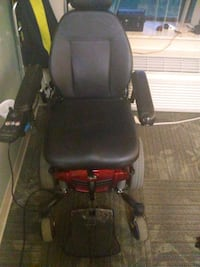 black and red motorized wheelchair Howell, 48843