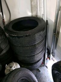 Set of 5 Goodyear Wrangler SR-A 275 55 R20 priced to go today!