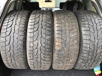 235/60/R18 winter tires with Rims. Barrie