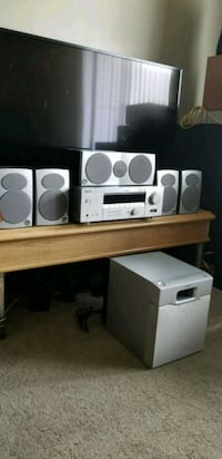 Yamaha Receiver with Athena Speaker and Sony Sub Edmonton, T6R