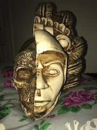 Aztec  2 Face Sculpture Ventura, 93004