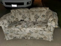Free couch with one broken leg fixable