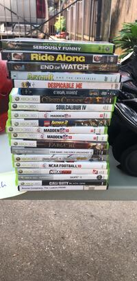 Assorted xbox 360 games $3 a game New Orleans, 70122