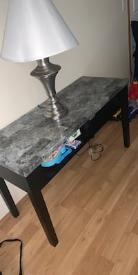 Entry way table.