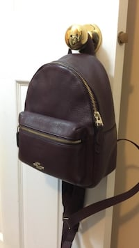 Coach leather mini backpack  Richmond, V7C 1W5
