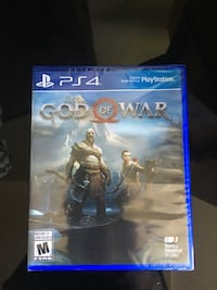 God of war ps4  firm price lightly used  Vancouver, V6R 2Z1
