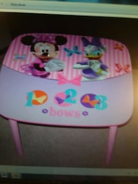 REDUCED NOW $10MINNIE BOW-TIQUE Table NEW Shippensburg, 17257