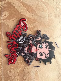 Betty Boop patch Beaumont, 92223