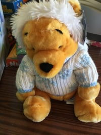 Disney Pooh bear stuffed plush animal Toronto, M2M 3P3