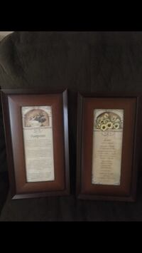 Beautiful framed picture and poems • $8 for Lot Brampton, L6V