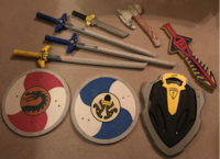 Nerf / Warrior Toys (9 pieces) Huntsville