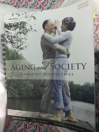 Aging and society canadian perspectives book