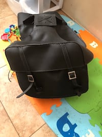 black leather motorcycle saddle bags Bakersfield, 93308