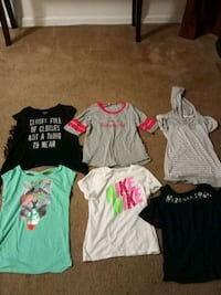 Various girls shirts Dundalk, 21222