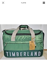 Timberland Ocean Path 22 Inch Duffle/Gym/Carry On Bag 22inch x 14inch x 11.5inch 3198C04 Dark Spruce/Orange/Grey Brand New With Tags Retail $260 Tampa, 33607