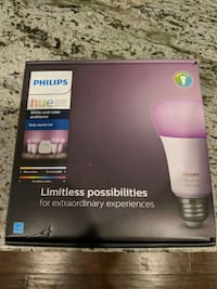Philips Hue 4 pack color Bulbs Plus Bridge Arlington